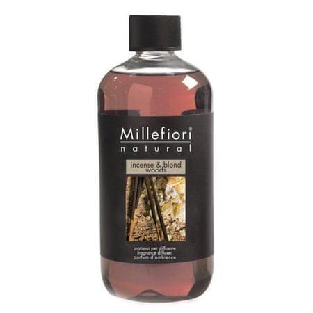 Millefiori Milano Wkład do dyfuzora , Naturalne, 500 ml / Kadzidło i jasne drewno