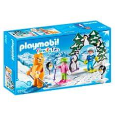 Playmobil Lyžiarska škola Playmobil, Zimné športy, 38 dielikov