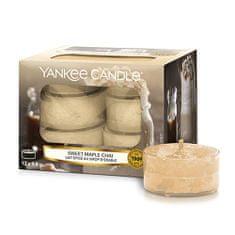 Yankee Candle Yankee gyertya tea gyertyák, Édes juhar chai, 12 darab