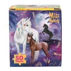 Miss Melody Puzzle Miss Melody ASST, Konie pod nocnym niebem, 50 sztuk