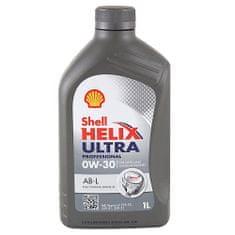 Shell Motorový olej , Helix Ultra Professional 0W-30, 1 L