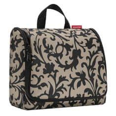 Reisenthel Cestovná toaletná taška , Béžová s barokovými ornamentami/toiletbag XL