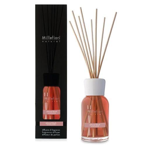 Millefiori Milano Sklenený difuzér , Natural, 500ml/Madľový prášok