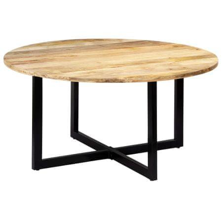slomart Jedilna miza 150x73 cm trden mangov les