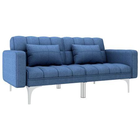shumee Kavč z ležiščem modro blago