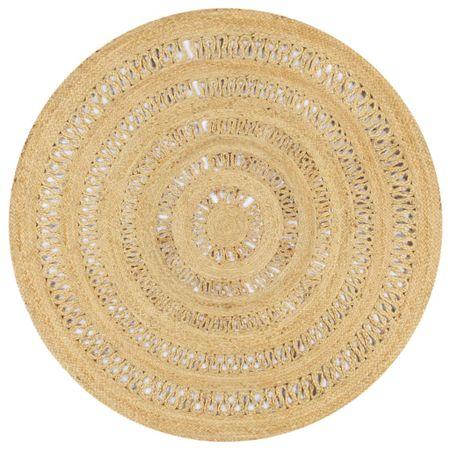 shumee Dywan ręcznie wypleciony z juty, 150 cm