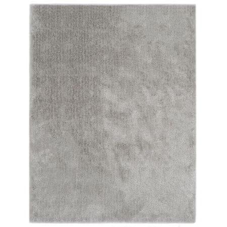 Dywan shaggy, 80 x 150 cm, szary