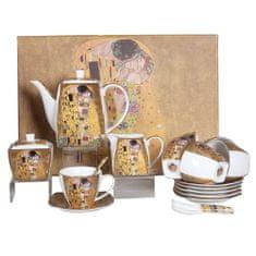 Home Elements 15ks čajová souprava se lžičkou – Klimt žlutý