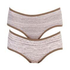 Molvy 2PACK dámské kalhotky vícebarevné (MD-807-KEU)