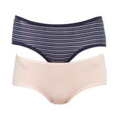 Molvy 2PACK dámské kalhotky vícebarevné (MD-808-KEU)