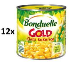 Bonduelle Gold Zlatá kukurice 12 × 340 g