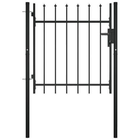 shumee ajtós lándzsahegy tetejű kerítéskapu 100 x 75 cm