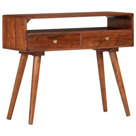 shumee tömör akácfa tálalóasztal 90 x 35 x 76 cm