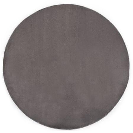 shumee sötétszürke műnyúlszőr szőnyeg 160 cm