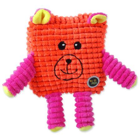 BeFUN zabawka dla psa CALYPSO senior kwadratowa, pomarańczowa 12,5 cm