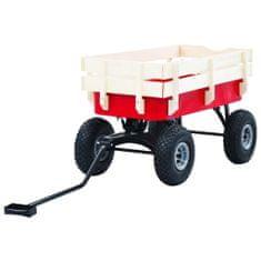 shumee Ruční vozík 150 kg červený