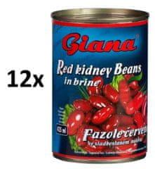 Giana Fazole červené ve sladkoslaném nálevu 12× 425ml