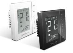 Salus Týdenní programovatelný termostat SALUS VS30B černý, kabelový, napájení 230V