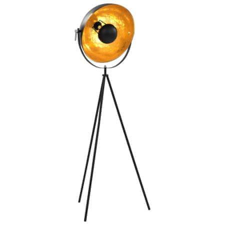 shumee fekete-arany állólámpa E27 41 cm