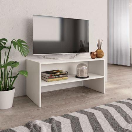 shumee Szafka pod TV, biała, 80 x 40 x 40 cm, płyta wiórowa