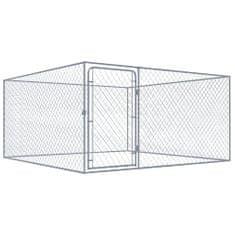 shumee Vonkajšia voliéra pre psy, pozinkovaná oceľ 2x2x1 m