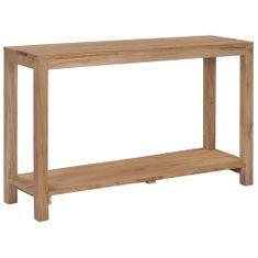 Petromila Konzolový stolek 120 x 35 x 75 cm masivní teakové dřevo
