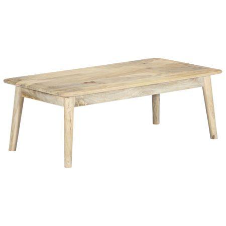shumee tömör mangófa dohányzóasztal 115 x 60 x 40 cm