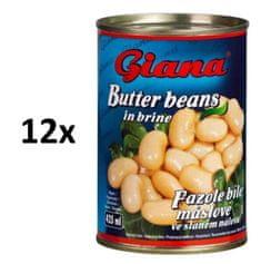 Giana Fazole bílé máslové 12× 425ml