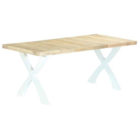 Jedálenský stôl 180x90x76 cm, mangový masív