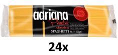 Adriana Spaghetti těstoviny semolinové sušené 24× 500g