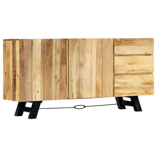 shumee Příborník 160 x 42 x 80 cm masivní mangovníkové dřevo