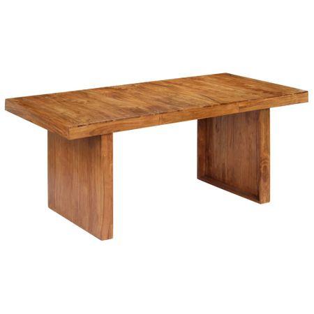 shumee tömör akácfa étkezőasztal 180 x 90 x 75 cm