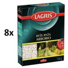 Lagris Rýže arborio 8× 500g