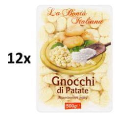 La Bontá Italiana Zemiakové gnocchi 12 × 500g