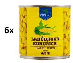 Bonitas Kukurica lahôdková 6 × 425ml