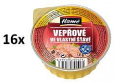 Hamé Bravčové vo vlastnej šťave 16 × 125 g