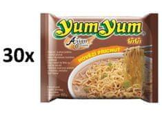YumYum Instantná rezancová polievka hovädzia príchuť 30 × 60 g