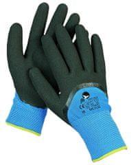 Free Hand Zateplené máčené nitrilové bezešvé pracovní rukavice Milvus, chladuodolné