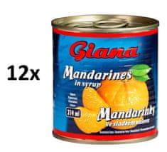 Giana Mandarínky 12 × 314 ml