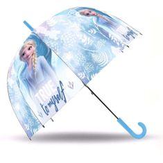 """EUROSWAN Automatický dáždnik transparentný """"Frozen II - Elsa"""""""