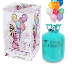 GoDan Party helium na 50 balónků + 50 balonů