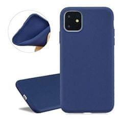 Maska za iPhone 11 Pro Max, silikonska, mat plava