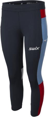 Swix ženske športne hlače 7/8 Motion Premium 41966.75100, M, modre