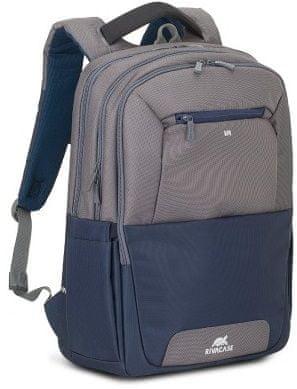 RivaCase 7777 ruksak, 43,9 cm (17.3''), sivo-plava