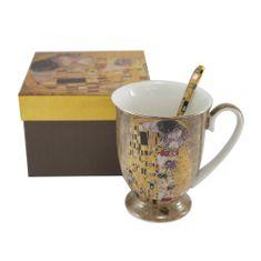 Home Elements Hrnek se lžičkou 280 ml, Klimt