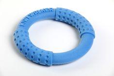 KIWI WALKER pierścień latający i pływający z pianki TPR niebieski, 18 cm