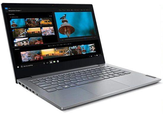 Notebook Lenovo ThinkBook 14-IIL (20SL00D1CK) 15,6 palce TPM 2.0 Wi-Fi USB HDMI Bluetooth