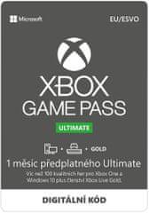 Microsoft Game Pass Ultimate - predplatné na 1 mesiac (QHW-00008)