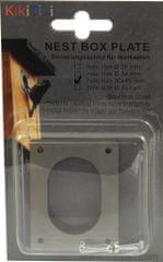 KikiTiki Ochranný plech vletového otvoru - 30x45 mm