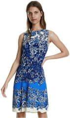 Desigual Dámske šaty Vest Atenas Azul Dali 20SWVW80 5054